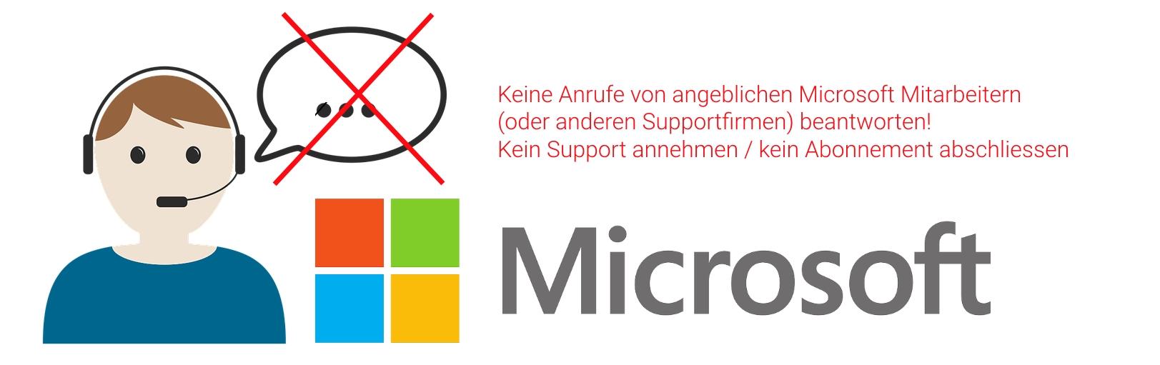 Microsoft Anrufe